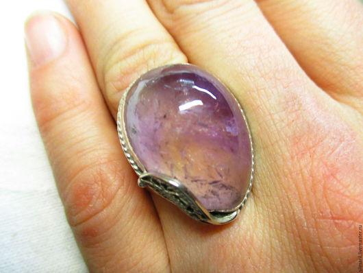 кольцо `Аромат эдельвейса` цена 2700 аметрин