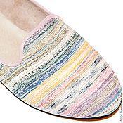 Обувь ручной работы. Ярмарка Мастеров - ручная работа Лоферы Raduga. Handmade.