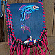 Handbags handmade. Livemaster - handmade. Buy Leather bag 'Song of the blue fish' 2.Leather, fish, coral