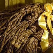Субкультуры ручной работы. Ярмарка Мастеров - ручная работа Веревка для шибари. Handmade.