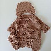 Одежда детская handmade. Livemaster - original item Newborn Baby Clothing Sets. Handmade.