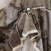 """Одежда ручной работы. Ярмарка Мастеров - ручная работа Макси юбка """"Твидовый пэчворк"""". Handmade."""