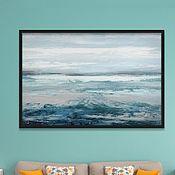 Картины и панно handmade. Livemaster - original item Interior painting of the Sea. Handmade.