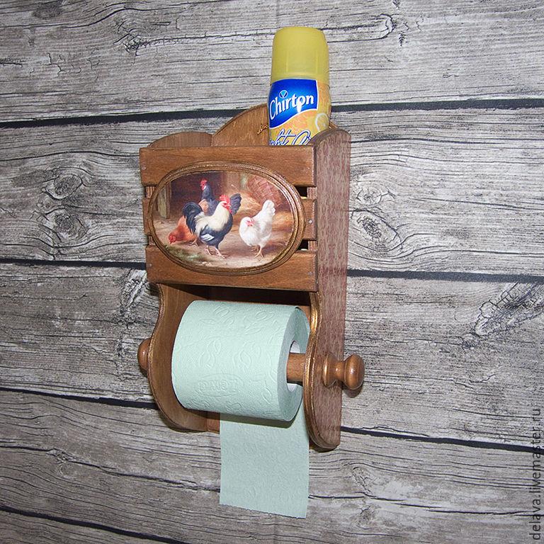 Как сделать подставку для туалетной бумаги