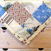 Для дома и интерьера ручной работы. Ярмарка Мастеров - ручная работа Лоскутное покрывало детское. Handmade.