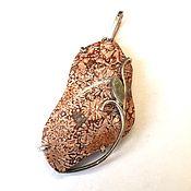 Украшения ручной работы. Ярмарка Мастеров - ручная работа Кулон Риолит. Handmade.