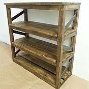 Для дома и интерьера handmade. Livemaster - original item Bookcase, Shoe Cabinet, kolesnica,dresser, console
