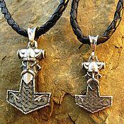 Украшения handmade. Livemaster - original item Talisman/Pendant Thor`s hammer silver 925. Handmade.