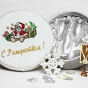 Подарки к праздникам ручной работы. Ярмарка Мастеров - ручная работа Подарок на Рождество. Handmade.