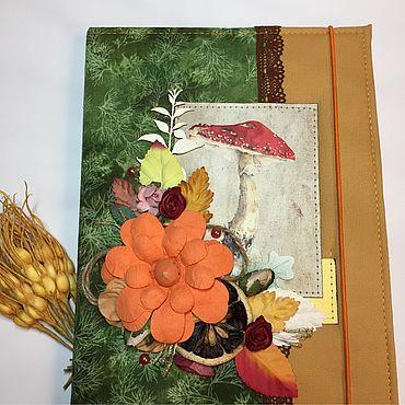 Для дома и интерьера ручной работы. Ярмарка Мастеров - ручная работа Фотопапка «Осенние прогулки». Handmade.
