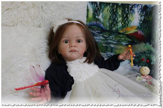 Куклы-младенцы и reborn ручной работы. Ярмарка Мастеров - ручная работа. Купить Frida  Karola Wegerich. Handmade. Бежевый, frida