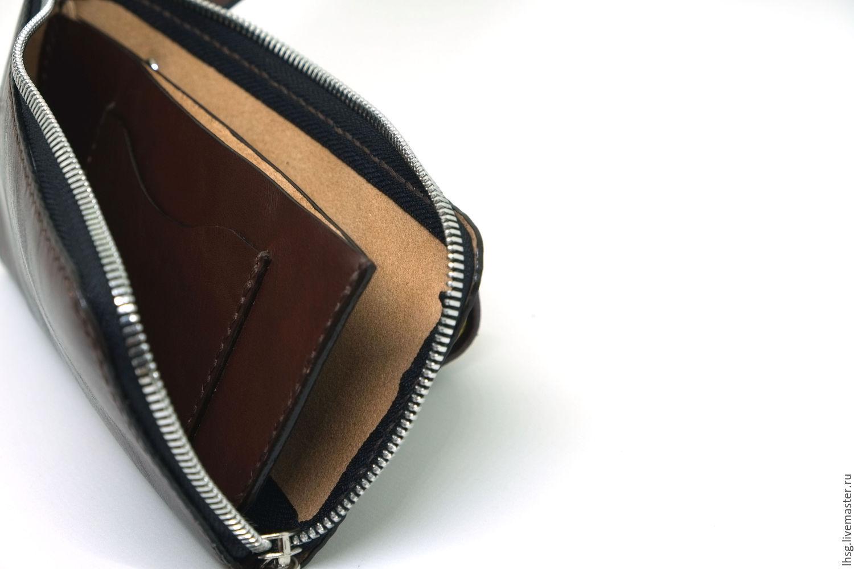 Женский кожаный кошелёк своими руками