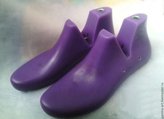 Валяние ручной работы. Ярмарка Мастеров - ручная работа. Купить Колодки обувные мужские (40-45). Handmade. Фиолетовый, пластик