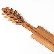 Посуда ручной работы. Ярмарка Мастеров - ручная работа Лопатка из дерева Дубовый листочек. Handmade.