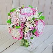 Свадебный салон handmade. Livemaster - original item The bride`s bouquet. WEDDING. tete-a-tete. Handmade.