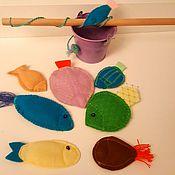 """Куклы и игрушки ручной работы. Ярмарка Мастеров - ручная работа Игрушки из фетра : Набор """"Рыбачок"""". Handmade."""