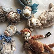 Куклы и игрушки ручной работы. Ярмарка Мастеров - ручная работа Тедди-долл котята.. Handmade.