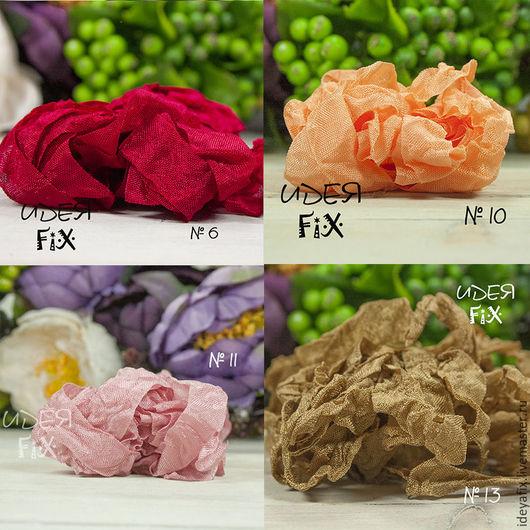 Цвета: №6 - алый, №10 - оранжевый,  №11 - розовый лепесток,  №13 - золотисто-коричневый.