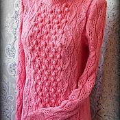 """Одежда ручной работы. Ярмарка Мастеров - ручная работа Джемпер""""Розовое настроение"""". Handmade."""