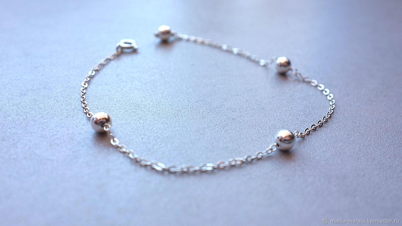 Cerbera 925 Bracelet With Beads купить на Ярмарке Мастеров Gd7apcom Браслет из бусин Samara