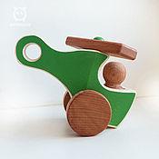 Техника, роботы, транспорт ручной работы. Ярмарка Мастеров - ручная работа Вертолет деревянные машинки. Handmade.