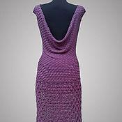Одежда handmade. Livemaster - original item Knit dress Downtown Jazz. Hook, rayon.. Handmade.
