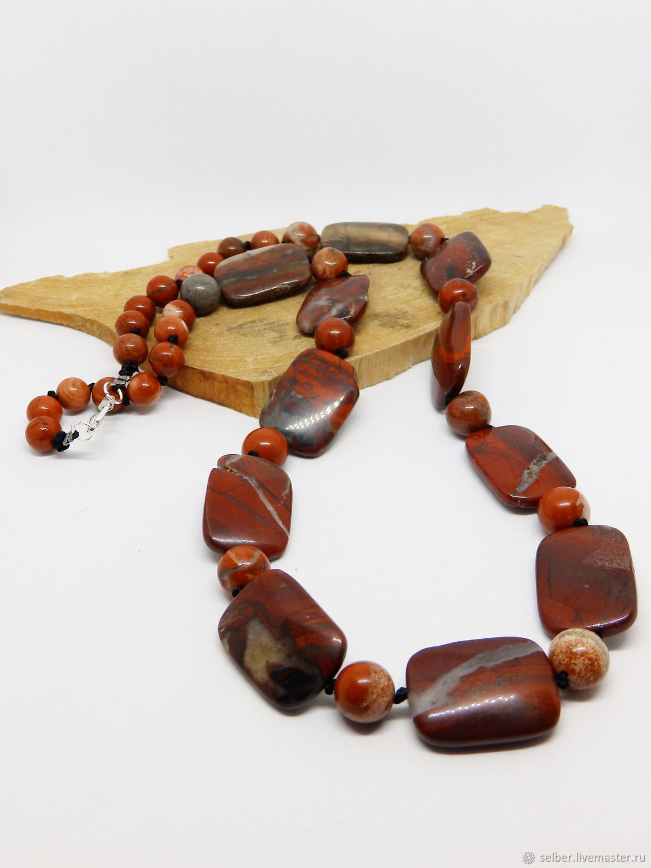 Radomir red Jasper beads 62 cm, Beads2, Gatchina,  Фото №1