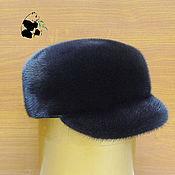 Аксессуары handmade. Livemaster - original item Cap fur Finnish mink. Mens fur soft cap.. Handmade.