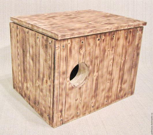 Для других животных, ручной работы. Ярмарка Мастеров - ручная работа. Купить Домик для хорька. Handmade. Домик для хорька, деревянный