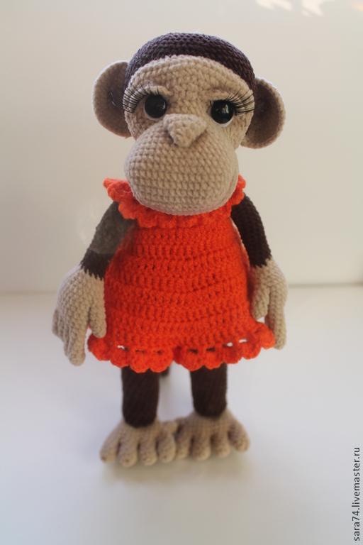 Мастер класс по вязанию Озорных обезьянок. автор Жидовинова Светлана