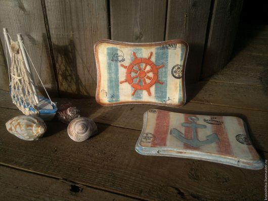 Детская ручной работы. Ярмарка Мастеров - ручная работа. Купить Морская душа. Handmade. Комбинированный, морской стиль, деревянная заготовка
