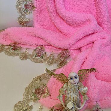Текстиль ручной работы. Ярмарка Мастеров - ручная работа Пледик Мамина нежность. Handmade.