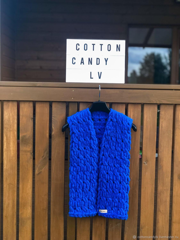 Blue vest for a girl, Vests, Riga,  Фото №1