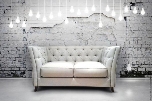 """Мебель ручной работы. Ярмарка Мастеров - ручная работа. Купить Диван """"Рич"""". Handmade. Белый, французский стиль, английская стяжка"""
