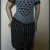 Одежда ручной работы. Ярмарка Мастеров - ручная работа Платье - реплика от бразильской мастерицы. Handmade.