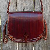 Сувениры и подарки handmade. Livemaster - original item Hunting bag leather, yet feels mod.1. Labour. Handmade.