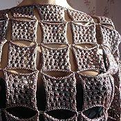 Одежда ручной работы. Ярмарка Мастеров - ручная работа Платье вязаное Квадраты. Handmade.