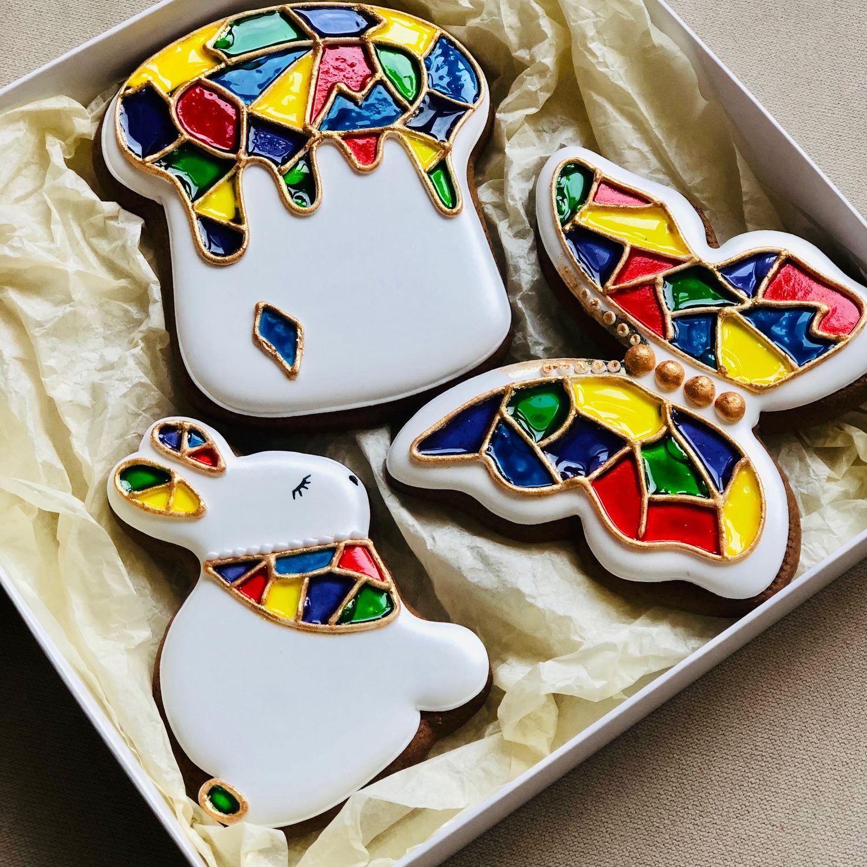 Пасхальные пряники с витражной росписью, Пасхальные сувениры, Москва,  Фото №1