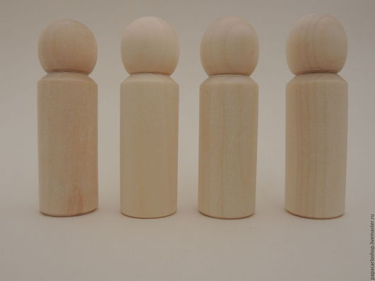 Человечки ручной работы. Ярмарка Мастеров - ручная работа. Купить Деревянные куколки-фигурки для детского творчества - 10 Peg doll. Handmade.