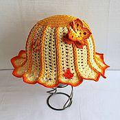 """Работы для детей, ручной работы. Ярмарка Мастеров - ручная работа Панамка для девочки """"Солнечный лучик"""". Handmade."""
