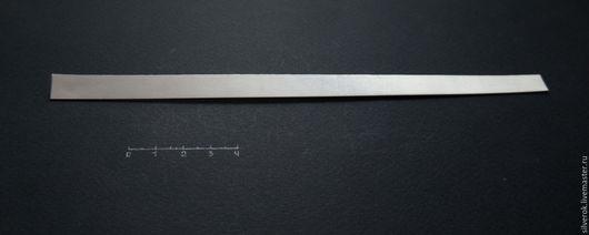Другие виды рукоделия ручной работы. Ярмарка Мастеров - ручная работа. Купить Пластина 0,8мм  серебро листовое 925 проба. Handmade.
