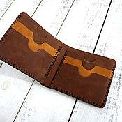 Сумки и аксессуары handmade. Livemaster - original item Purse genuine leather Crazy Horse. Handmade.
