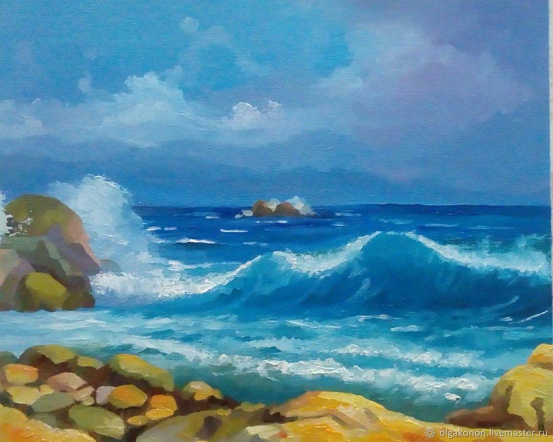 морской пейзаж, Картины, Лида,  Фото №1
