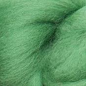 Материалы для творчества ручной работы. Ярмарка Мастеров - ручная работа Меринос 16 мк окрашенный - цвет Английская деревня. Handmade.