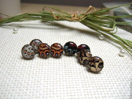Купить милые оригинальные винтажные серьги с крыльями бабочки с крылышками из ювелирной эпоксидной смолы украшения ручной работы Карина Бойко