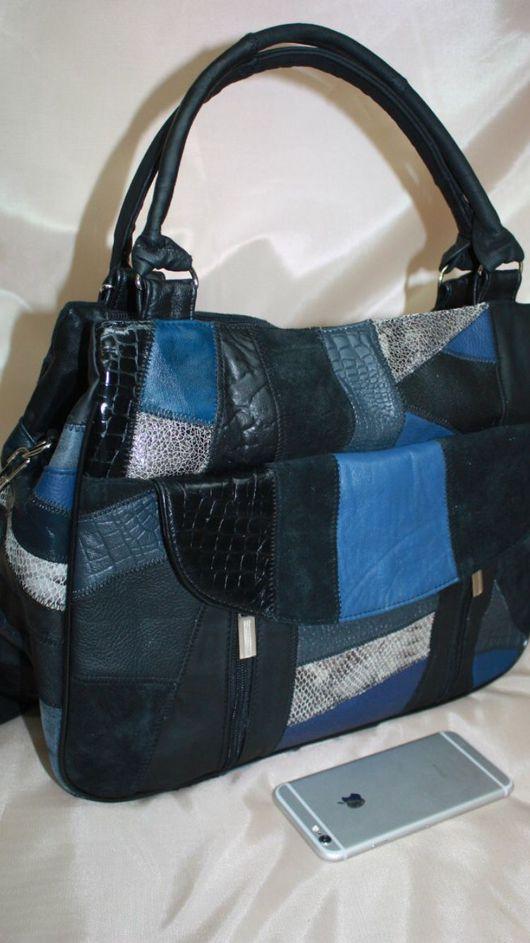 Женские сумки ручной работы. Ярмарка Мастеров - ручная работа. Купить Ну добралась я до этой модели),ну оооочень удобная Сумка М135. Handmade.