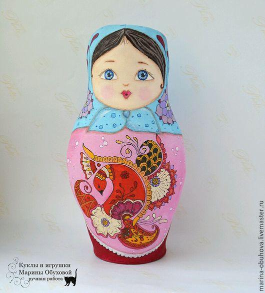 Коллекционные куклы ручной работы. Ярмарка Мастеров - ручная работа. Купить Матрёшка. Handmade. Матрешка, авторская игрушка, матрешка расписная