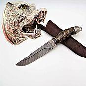 Сувениры и подарки handmade. Livemaster - original item Knife master of the Taiga (cubic Zirconia). Handmade.