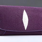 Сумки и аксессуары handmade. Livemaster - original item Wallet women leather Stingray IMC0024A31. Handmade.
