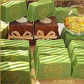 """Косметика ручной работы. Ярмарка Мастеров - ручная работа """"Алеппское классическое 20%"""" (Зейтун, ), натуральное мыло. Handmade."""